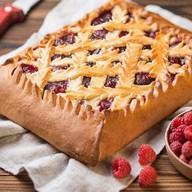 Пирог с малиной (предзаказ за 1 день) Фото
