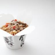Рис с говядиной и овощным миксом Фото