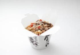 Рис с говядиной и овощным миксом - Фото