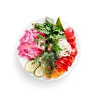 Ассорти соленых овощей Фото