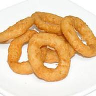 Жареные луковые кольца Фото
