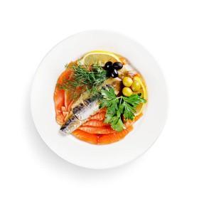 Рыбное ассорти - Фото
