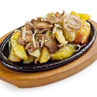 Картошка с потрошками Фото