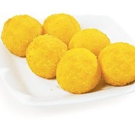 Рисовые шарики сыр моцарелла Фото