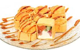 Тортилья хот с лососем - Фото
