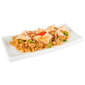 Рис с лососем - Фото