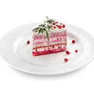 Торт бруснично-сметанный Фото