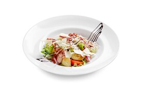 Салат с беконом - Фото