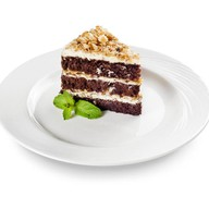 Торт Шоколадный с фундуком Фото