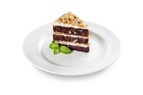 Торт Шоколадный с фундуком - Фото