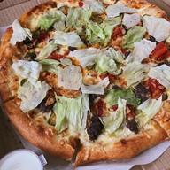 Чизбургер-пицца Фото