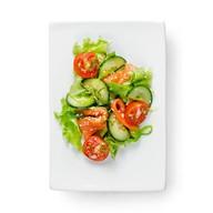 Салат с лососем Фото