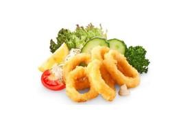 Кольца кальмара фри - Фото