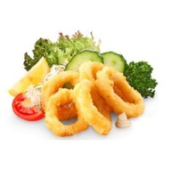 Кольца кальмара фри Фото