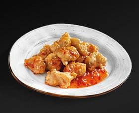 Курица в кляре с чили в сладком соусе - Фото