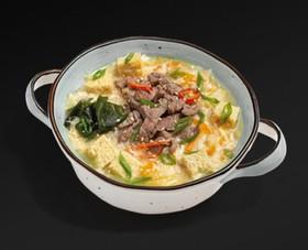 Острый суп кимчи с говядиной - Фото