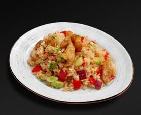 Рис по-тайски с курицей - Фото