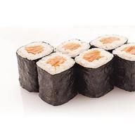Ролл копчёный лосось Фото