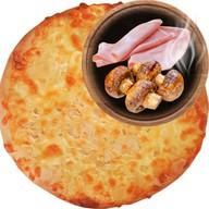 Хачапури аппетитная ветчина Фото