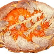 Постный пирог с маком, изюмом, медом Фото