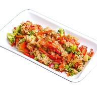 Японский рис с овощами Фото