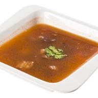 Суп с рисовой лапшой и бараниной Фото