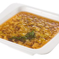 Китайский суп из капусты и курицы Фото