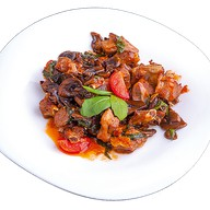 Бараньи ребрышки в грибном соусе Фото