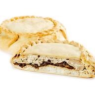 Блинчатый пирог с курицей Фото