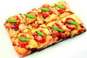 Суши-пицца из морепродуктов - Фото