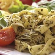 Фетучини с говядиной и шпинатом Фото