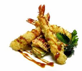 Креветки в темпуре - Фото