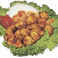 Курица в тайском соусе Фото