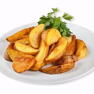 Картофель запечёный Фото