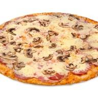 Ветчина-грибы пицца Фото