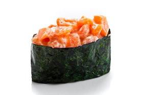Гункан спайси лосось - Фото
