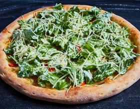 Цезарь пицца с курицей - Фото