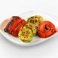 Овощи печеные на углях Фото
