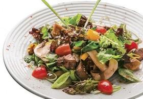 Салат микс с телятиной - Фото
