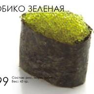 Тобико (зеленая) Фото