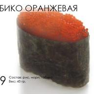 Тобико (оранжевая) Фото