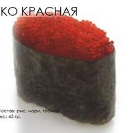 Тобико (красная) Фото