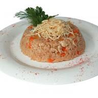 Рис в коробочке со свининой Фото