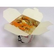 Креветки по-янчжоуски с рисом Фото
