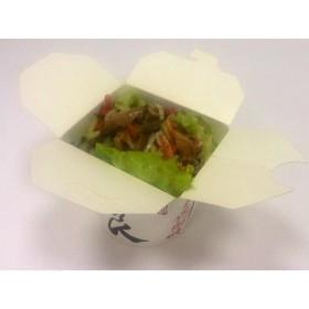 Салат с шампиньонами - Фото