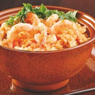 Рис жареный с морепродуктами Фото