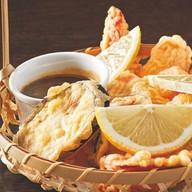 Темпура с лососем Фото