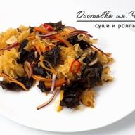 Салат с древесными грибами Фото