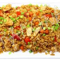 Рис с курицей терияки Фото