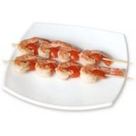 Шашлычки с соусом терияки с креветками Фото